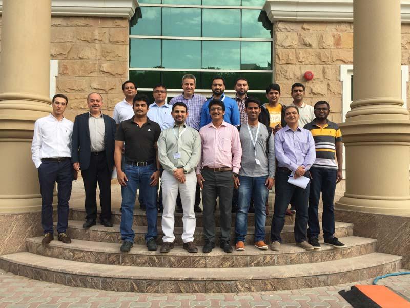Training in Cortec Office in Dubai